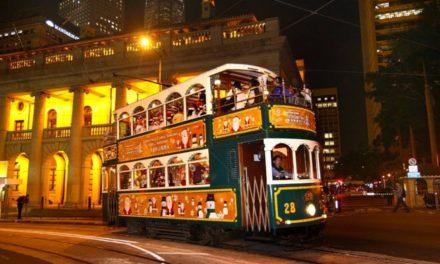 """中南大学香港校友会 """"哈啰喂之夜""""Tram Party 绿色经典复古电车派对"""